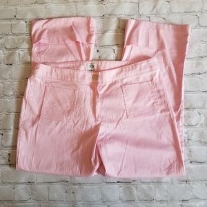 Cache Pants - Cache Pink Capri Pants